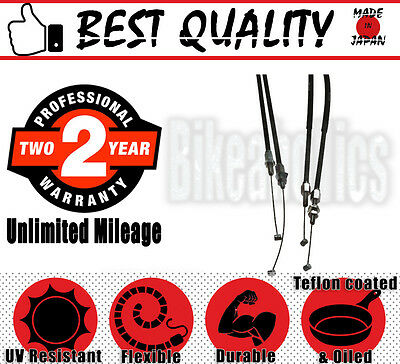 Premium Quality Throttle Cable Set- Honda CRF 250 R - 2006