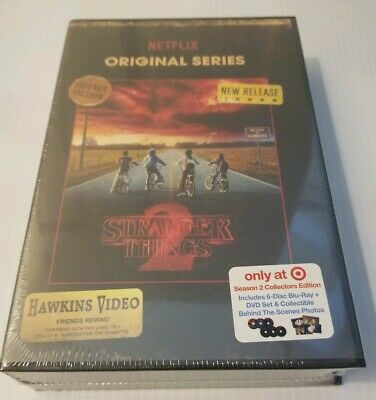 New Sealed Stranger Things Season 2 Collector's Edition 6 Disc Blu-Ray & DVD Set