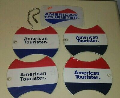 Vintage American Tourister Luggage Tags  Identification