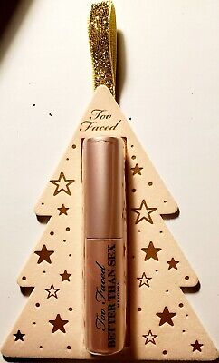 Too Faced Better than Sex Mascara Travel Size Xmas Ornament 4.8g New/Sealed