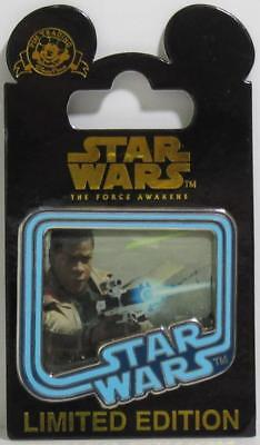 NEW Disney Parks Star Wars The Force Awakens FINN Limited Edition Trading Pin