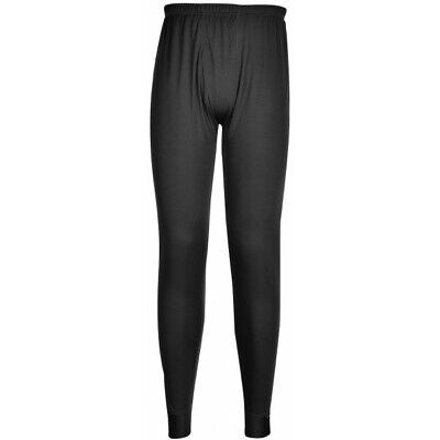 PORTWEST Thermal Base Layer Leggings - Black - Large B131BKRL