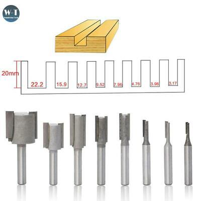 "8Pcs/Set Shank 1/4"" Mill Router Bit Sets For Wood Milling Cutters Carving Tool"