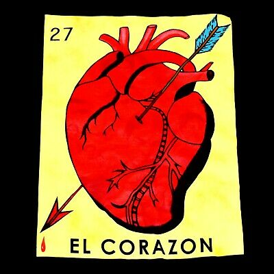 image regarding Free Printable Mexican Loteria Cards titled STREETWISE LA PLAZA T-blouse Loteria Mexican Card Sport Grownup