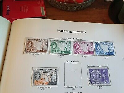 Northern Rhodesia 1953 Sg 54-60 3 Sets  Used