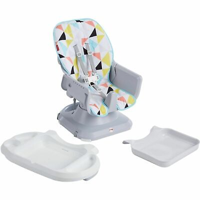 Fisher-Price FLG95 SpaceSaver Baby High Chair - Multi-Color