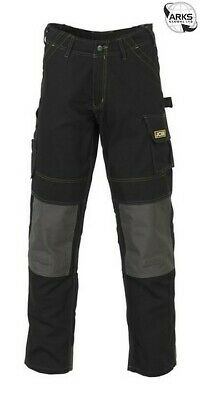 JCB Cheadle Pro Trousers - Black - 44in. Waist (Tall) D-WDB/44