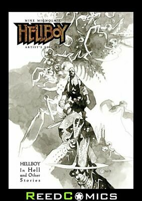 MIKE MIGNOLA HELLBOY ARTIST EDITION HARDCOVER (NEW EDITION) New Boxed Hardback