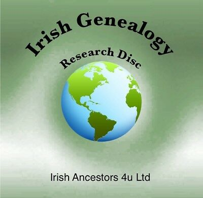 Irish Genealogy Research CD - Family History Research