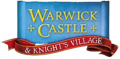 2 x WARWICK CASTLE TICKETS FOR FRIDAY 6TH SEPTEMBER 2019