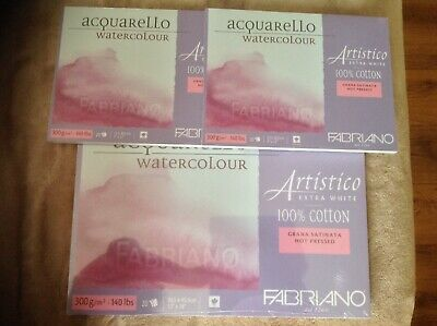 Fabriano Artistico Block 9x12in 20 Sheets Traditional HP