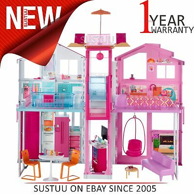 Barbie 3 Story Townhouse│Baby/Toddler's Colourful Activity/Playtime Toyset│+3yrs