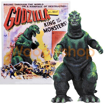 "NECA Godzilla 1956 Movie King Monster Dinosaur 6"" Action Figure 12"" Head To Tail"