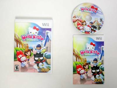 Hello Kitty Seasons game for Nintendo Wii -Complete
