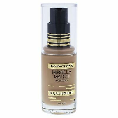 Max Factor Miracle Match Foundation | Beige 55 | Blur & Nourish | RRP £12.99