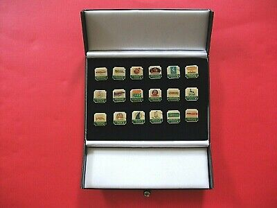 """""""Cricketer"""" Collection 18 National Cricket League Pin Badges"""