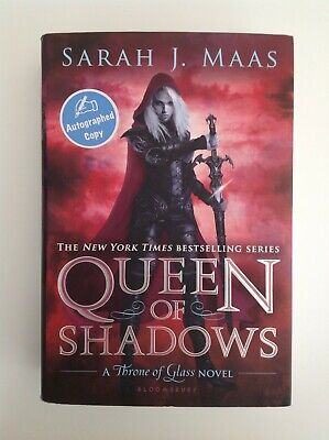 QUEEN OF SHADOWS - A Throne of Glass Novel by: Sarah J. Maas - SIGNED, VERY GOOD