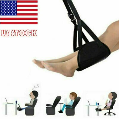 Comfy Hanger Travel Airplane Footrest Hammock Foot Made w/ Memory Foam Premium