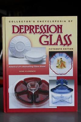 Collectors Encyclopedia of Depression Glass Book by Gene Florence - 15th Edition