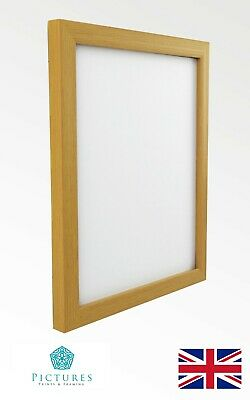 Beech Effect 7x7 Square Picture Photo Frame Hang