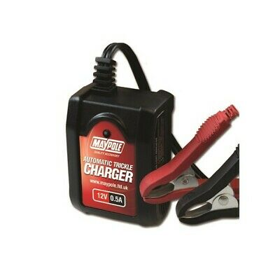 MAYPOLE Automatic Trickle Battery Charger - 0.5A - 12V MP7402