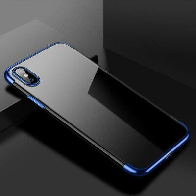 Case For iPhone XS MAX XR X Luxury Ultra Slim Shockproof Cover Bumper E2W8