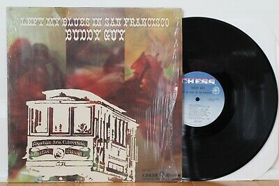 """Buddy Guy LP """"Left My Blues In San Francisco"""" Chess 1527 ~ VG++ in Shrink"""