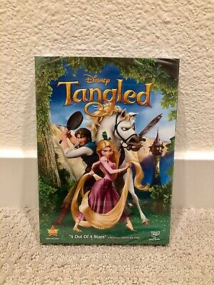 Tangled DVD Brand New Disney Film 1-Disc Free Shipping and Returns