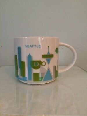 Starbucks Seattle Yah You Are Here Collection Mug Seattle