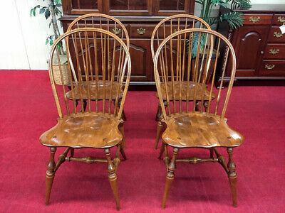 E.R. Buck Maple Windsor Chair (Four Available) - Delivery Available