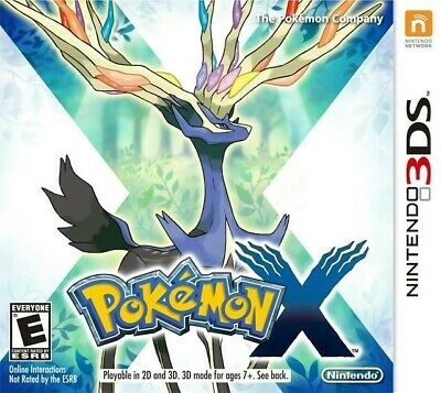 Pokemon X - Nintendo 3DS Game Only