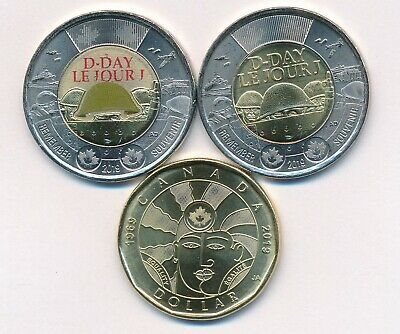 $1 Equality+ Pair New 2019 75th D-Day Colored & No Color $2 Canada Free Shipping