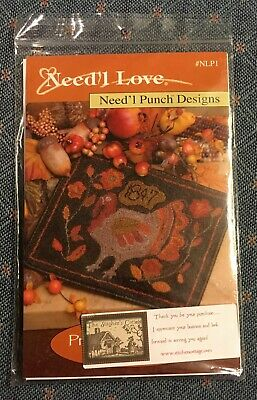 Primitive Gobbler Punch Needle Pattern from Need'l Love