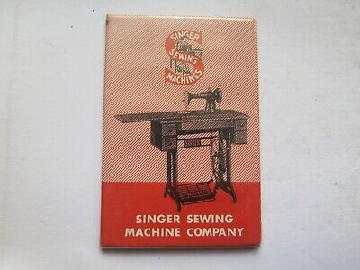 SINGER SEWING MACHINES POCKET MIRROR in EXCELLENT CONDITION c1920s