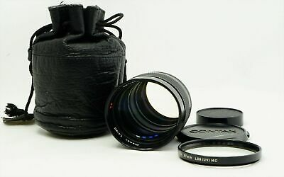 """""""Excellent-"""" Contax Carl Zeiss Planar T 85mm f/1.4 MF Lens AEG Filter from Japan"""