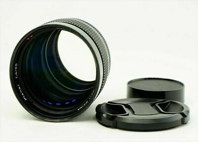 Contax Carl Zeiss Planar T* 85mm f/1.4 MF Lens AEG 85 1.4 from Japan Excellent-