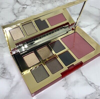 Estee Lauder Pure Color Envy Eye Shadow Cheek Blush Palette GLAM Warm Full Size