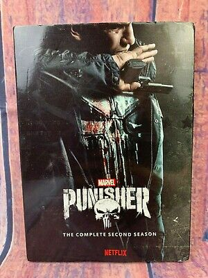 THE PUNISHER The Complete second Season 2  3 DVD DISC