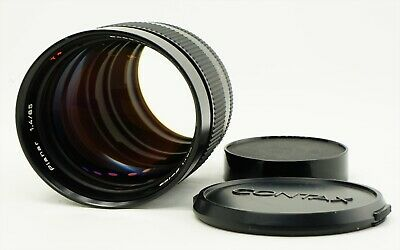 """""""Excellent"""" Contax Carl Zeiss Planar T* 85mm f/1.4 Telephoto MF Lens AEG JAPAN"""