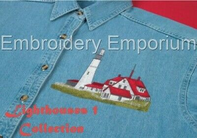 Lighthouses 1 Collection - Machine Embroidery Designs On Cd Or Usb