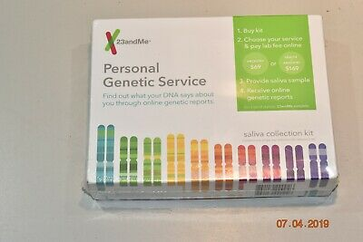 23andMe DNA Test - Ancestry Personal Genetic Service w/ Saliva Collection Kit