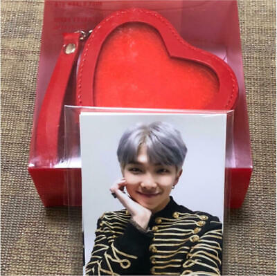 BTS SPEAK YOURSELF Coin Pouch + Photocard WORLD TOUR JAPAN Official ARMY