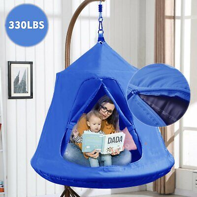 Hammock Waterproof Hanging Tent Indoor Outdoor Suit for Adult and Kids With LED