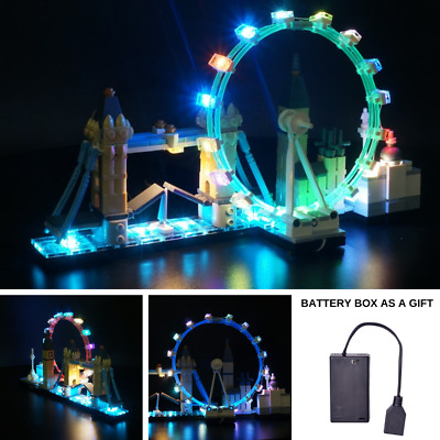 Led Light Up Kit For LEGO 21034 Architecture London Great Britain Building Block