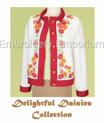 Delightful Daisies Collection - Machine Embroidery Designs On Cd Or Usb