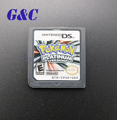 Pokemon Platinum USA Version Video sporting Card For Nintendo NDS 3DS DSI NDSL