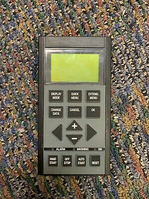 Danfoss Keypad 175Z7804 SW Ver. 1.50 For 6000 Series Only Used