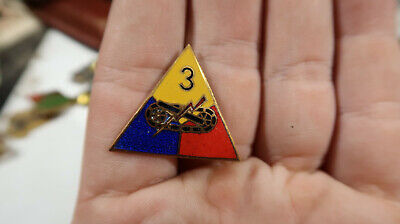 WWII POST WAR GERMAN MADE US Army 3rd Armored Division DI Assmann