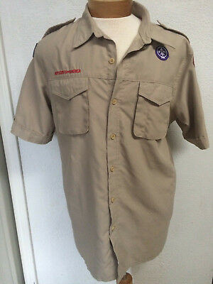 Boyscouts of America short sleeved Blouse Size Men's Large