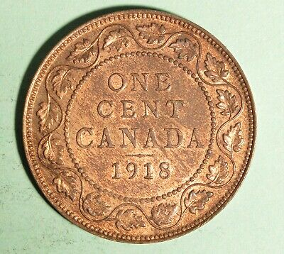 1918 - Canada Large Cent - UNC - Inv# T-174